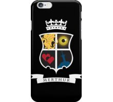 Merthur Coat of Arms iPhone Case/Skin