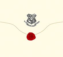 Hogwarts letter  by Jarriet
