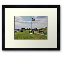 Old Cannons of Wars Framed Print