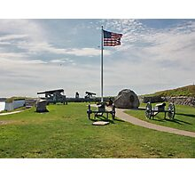 Old Cannons of Wars Photographic Print