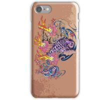 Purple koi simplicity  iPhone Case/Skin