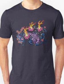 Purple Koi  Unisex T-Shirt