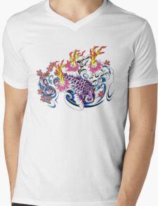 Purple Koi  Mens V-Neck T-Shirt