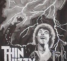 Phil Lynott Portrait by Paddyta2s