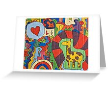 Wall-Art-023 Greeting Card