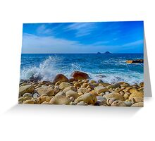 Cot Valley Porth Nanven 3 Greeting Card