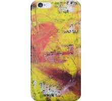 yellow mania iPhone Case/Skin
