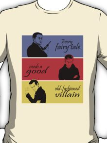 Villains of SuperWhoLock T-Shirt