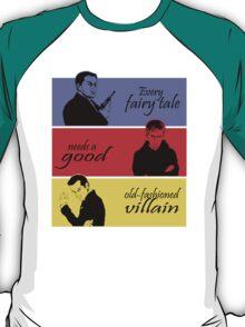Villains of SuperWhoLock T-Shirt