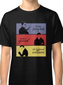 Villains of SuperWhoLock Classic T-Shirt
