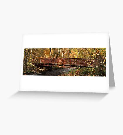 Bridge On Big Chico Creek Greeting Card