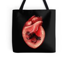 Black Moor Heart Tote Bag