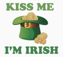 Kiss Me Im Irish Hat St Patricks Day by CarbonClothing