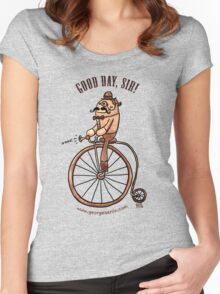 Good Day, Sir! Women's Fitted Scoop T-Shirt