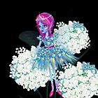 Enigmatic Flower Faerie iPhone by LeahG Artist
