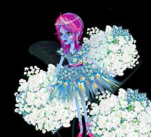 Enigmatic Flower Faerie iPhone by Cartoonistlg