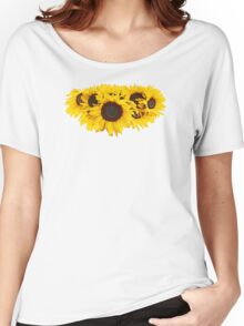 Sunflower Medallion Women's Relaxed Fit T-Shirt