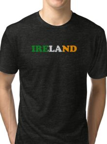 Ireland Flag St Patricks Day Tri-blend T-Shirt