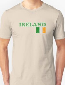 Ireland Vintage Flag St Patricks Day T-Shirt