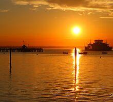 Yarmouth Sunset by Jonathan Cox