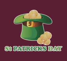 St Patricks Day Gold Hat by CarbonClothing