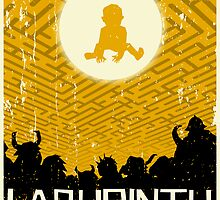 Labyrinth Poster by MarkWelser