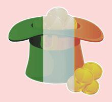 St Patricks Day Irish Hat One Piece - Long Sleeve