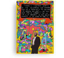 RichARTd Dawkins (Richard Dawkins) Canvas Print