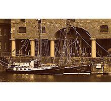Sailing Ships Snowbird & Zebu. Photographic Print