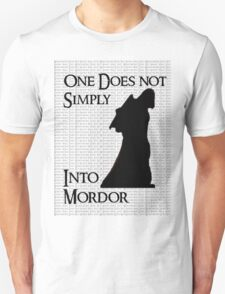Walk Into Mordor? T-Shirt