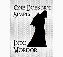 Walk Into Mordor? Unisex T-Shirt