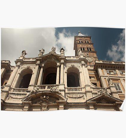Rome, Basilica of Santa Maria Maggiore Poster