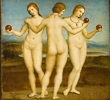 Raphael - The Three Graces by TilenHrovatic