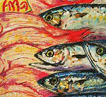 Tokyo Fish Market by David Olson