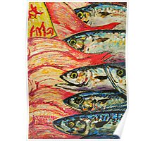 Tokyo Fish Market Poster