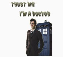 "Doctor Who ""Trust me I'm a doctor""-shirt by LPLinuZ"