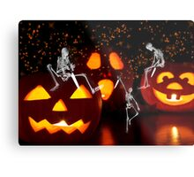 Carving Up the Night Metal Print