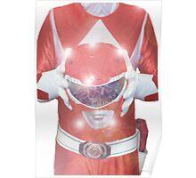 Red Ranger Poster Poster