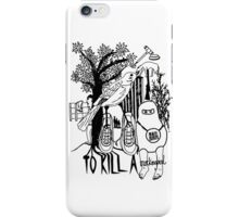 To Kill a Mockingbird (black and white) iPhone Case/Skin