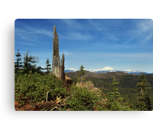 Mount Lassen From A Distance Canvas Print