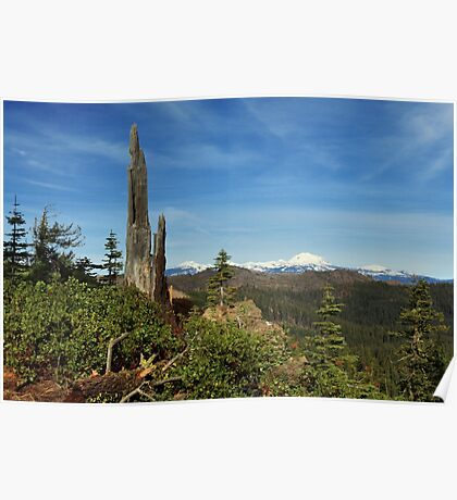 Mount Lassen From A Distance Poster