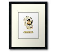 Albert II: The first monkey in space Framed Print