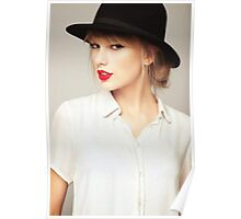Taylor Swift Hat Poster