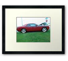 2012 Dodge Challenger R/T Framed Print