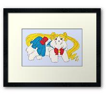 Sailor Maltese Framed Print