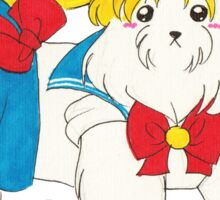 Sailor Maltese Sticker