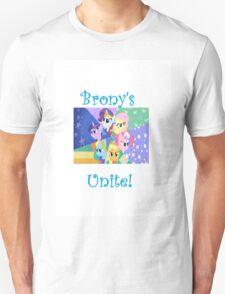 Brony's Unite! T-Shirt