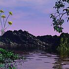 Riverside Morning by vinmac