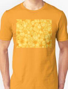 Yellow Flower Cloud Unisex T-Shirt