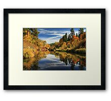 Susan River 10-28-12 Framed Print
